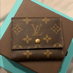 Louis Vuitton credit card holder